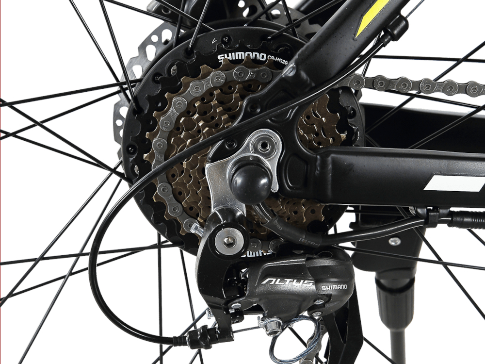 GTWO Electric Bicycle Shimano Shifter 21 Speeds